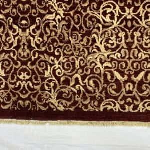 Rug# 13825, Afghan Turkaman weave Eslimi scrolls, handspun wool, size 209x141 cm, RRP $2400, Special price $720 (4)