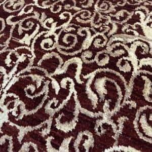 Rug# 13825, Afghan Turkaman weave Eslimi scrolls, handspun wool, size 209x141 cm, RRP $2400, Special price $720 (5)