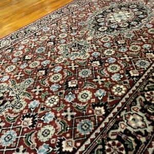 Rug# 14185, Superfine Amritsar, NZ wool pile, Tabriz dsn, 14x14 quality, India, size 306x76 cm RP $2500, Special $1000 (4)