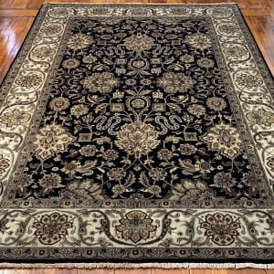 Rug# 16386, Superfine Jaipur, 19th c Tabriz dsn, Nz wool pile, very durable, India, size 270x185 cm, RRP $4500, on special $1750 (2)