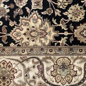 Rug# 16386, Superfine Jaipur, 19th c Tabriz dsn, Nz wool pile, very durable, India, size 270x185 cm, RRP $4500, on special $1750 (4)