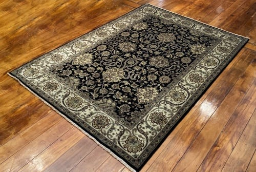 Rug# 16386, Superfine Jaipur, 19th c Tabriz dsn, Nz wool pile, very durable, India, size 270x185 cm, RRP $4500, on special $1750