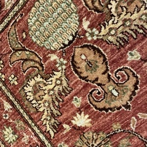 Rug# 22152, Afghan Turkaman weave 18th c Mogul design, hsw, vegetable dyes, size 235x84 cm RRP $1800, Special $750 (4)