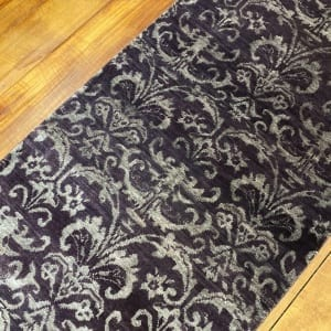Rug# 23324, Fine Agra design, Tibetan wool pile, 18th c Damask dsn, 8x8 quality, India, size 237x73 cm RRP $1800, Special $750 (2)