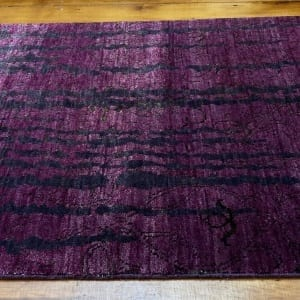 Rug# 23468, Agra modern design, 8x8 quality, Tibetan wool, India, size 290x72cm RRP $2400, Special $800 (3)