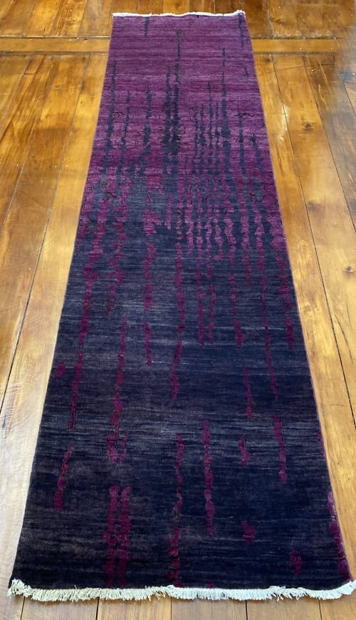 Rug# 23468, Agra modern design, 8x8 quality, Tibetan wool, India, size 290x72cm RRP $2400, Special $800