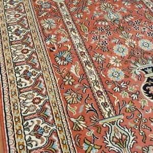 Rug# 23941, very fine Kashmir silk , total 720,000 knots, Mogul prayer design , size 149x91 cm, RRP$3500, on special $1050 (4)