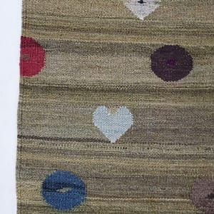 Rug# 24684, Turkish new modern Kilim rug, vegetable dyes, very durable, all wool, size 279x210cm RRp $2500, on special $900 (2)