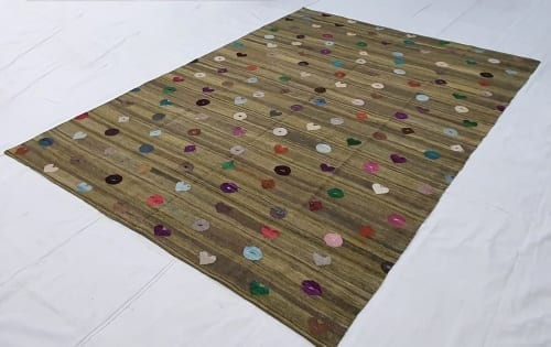Rug# 24684, Turkish new modern Kilim rug, vegetable dyes, very durable, all wool, size 279x210cm RRp $2500, on special $900