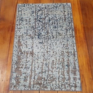 Rug# 25787, Afghan Turkaman weave Varegeh or sample carpet, wool and silk, size 90x60 cm, RRP$600, on special $200 (2)
