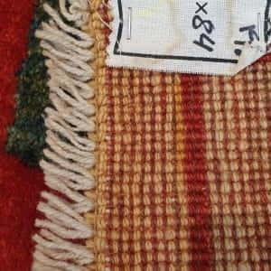 Rug# 2781, Nomadic Qashqai Gabbeh, c.1960 , Persia, rare, size 156x84cm, RRP$1300, on special $500