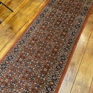 Rug# 2926, Superfine Bukan Bijar, all over mahi design,18x18 quality, size 289x81 cm RRP $3900, Special $1700 (2)