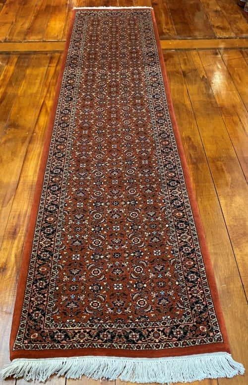 Rug# 2926, Superfine Bukan Bijar, all over mahi design,18x18 quality, size 289x81 cm RRP $3900, Special $1700