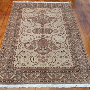 Rug# 4641, Certified Miri-Creation Tabriz, c. 2000, collectable, Persia, size 184x123 cm, RRP$7500, on special $3300