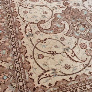 Rug# 4641, Certified Miri-Creation Tabriz, c. 2000, collectable, Persia, size 184x123 cm, RRP$7500, on special $3300 (4)