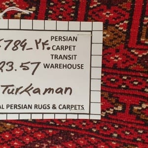 Rug# 6784, Turkaman bag face, Gonbad-Khorassan , Persia, rare, size 125x57 cm, RRP$500, on special $200