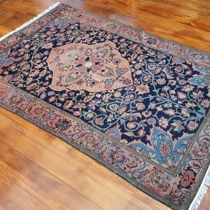 Rug# 97, Antique Mishen Malayer, c.1880, superfine, restored, , collectable, Persia, size 194x130 cm, RRP16000, on special $6500 (3)