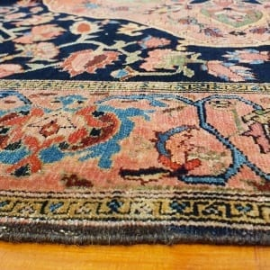Rug# 97, Antique Mishen Malayer, c.1880, superfine, restored, , collectable, Persia, size 194x130 cm, RRP16000, on special $6500 (4)