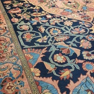 Rug# 97, Antique Mishen Malayer, c.1880, superfine, restored, , collectable, Persia, size 194x130 cm, RRP16000, on special $6500 (5)
