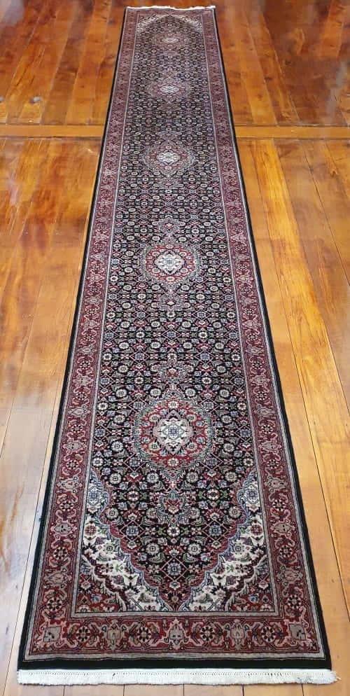 Rug# 14203, Superfine Amritsar, Tabriz design, NZ wool pile, India,size 518x80 cm, $5000, on special , $1850 (2)