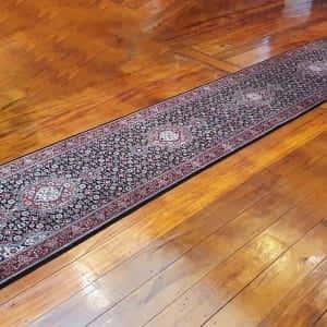 Rug# 14203, Superfine Amritsar, Tabriz design, NZ wool pile, India,size 518x80 cm, $5000, on special , $1850 (3)