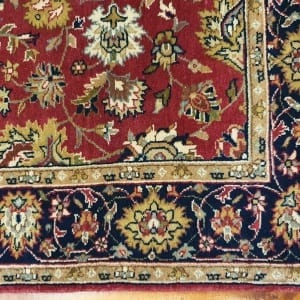 Rug# 23234, superfine Agra, fine NZ wool pile, Mashad design, India, size 496x103 cm, RRP $5500, on special $1990 (4)