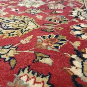 Rug# 23234, superfine Agra, fine NZ wool pile, Mashad design, India, size 496x103 cm, RRP $5500, on special $1990 (6)