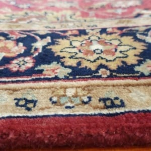 Rug# 23234, superfine Agra, fine NZ wool pile, Mashad design, India, size 496x103 cm, RRP $5500, on special $1990 (7)
