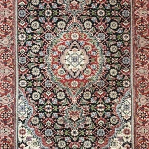 Rug# 23480, Superfine Amritsar, Tabriz dsn, NZ wool pile, India, size 607x81, RRP $5100, on special $1900 (4)
