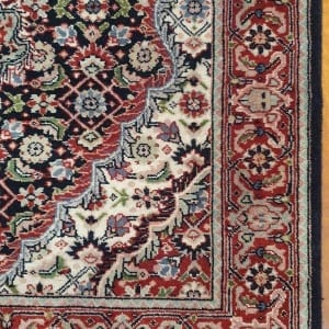 Rug# 23480, Superfine Amritsar, Tabriz dsn, NZ wool pile, India, size 607x81, RRP $5100, on special $1900 (5)