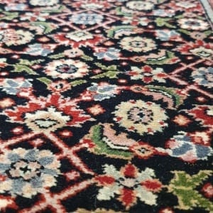 Rug# 23480, Superfine Amritsar, Tabriz dsn, NZ wool pile, India, size 607x81, RRP $5100, on special $1900 (6)