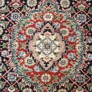 Rug# 23480, Superfine Amritsar, Tabriz dsn, NZ wool pile, India, size 607x81, RRP $5100, on special $1900 (8)