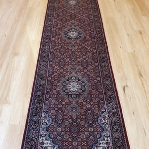 Rug# 23653 Superfine Amritsar, NZ wool pile, India, size 651x82, RRP $6500, on special $2700 (2)