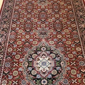 Rug# 23653 Superfine Amritsar, NZ wool pile, India, size 651x82, RRP $6500, on special $2700 (5)