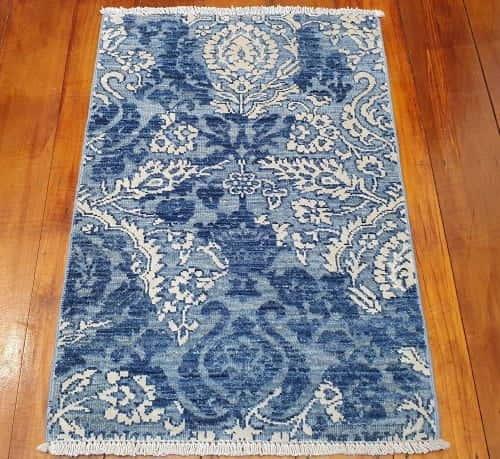 Rug# 25794, Afghan Turkaman weave Varegeh or sample carpet, rare, size 90x60 cm, RRP$600, on special $200 (2)