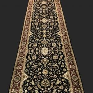 Rug# 30831, Indo Kashan, superfine, 503x80 cm