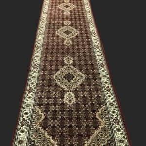 Rug# 30834, Indo Tabriz, silk inlay, 606x80 cm