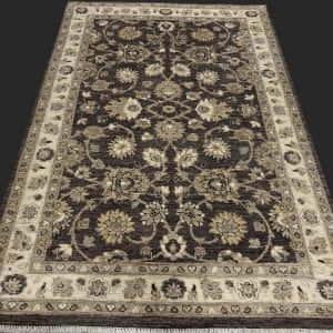 Rug# 26061, Peshawar Chobrang, 19th c Ziegler design , HSW pile, Pakistan, size 183x123 cm, RRP $2500