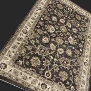 Rug# 26061, Peshawar Chobrang, 19th c Ziegler design , HSW pile, Pakistan, size 183x123 cm RRP$2500