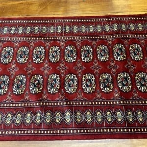 Rug# 24835, Superfine Pakistan Turkamman design, Lahore, 20x20 quality, size 303x81 cm RRP $2900, Special $1250 (2)