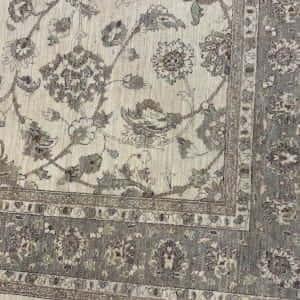 Rug# 26068, Peshawar Chobrang, 19th c Ziegler design , HSW pile, Pakistan, size 306x241 cm (3)