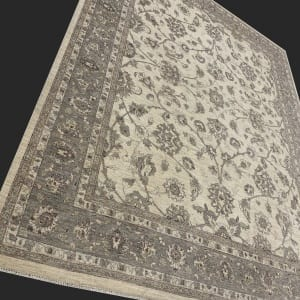 Rug# 26068, Peshawar Chobrang, 19th c Ziegler design , HSW pile, Pakistan, size 306x241 cm RRP $5950