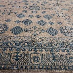 Rug# 26069, Peshawar Chobrang, inspired by 19th c Khotan design , HSW pile, Pakistan, size 295x244 cm (4)