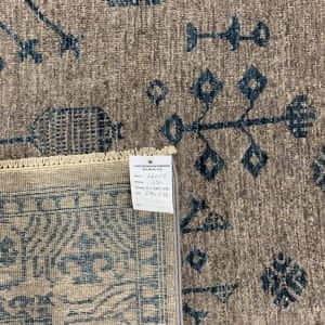 Rug# 26069, Peshawar Chobrang, inspired by 19th c Khotan design , HSW pile, Pakistan, size 295x244 cm (5)