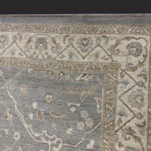 Rug# 26071, Peshawar Chobrang, 19th c Ziegler design , HSW pile, Pakistan, size 307x234 cm (3)