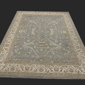 Rug# 26071, Peshawar Chobrang, 19th c Ziegler design , HSW pile, Pakistan, size 307x234 cm
