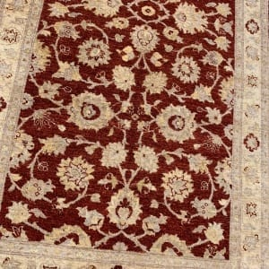 Rug# 26072, Peshawar Chobrang, 19th c Ziegler design , HSW pile, Pakistan, size 620x120 cm (3)