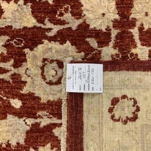 Rug# 26072, Peshawar Chobrang, 19th c Ziegler design , HSW pile, Pakistan, size 620x120 cm (5)