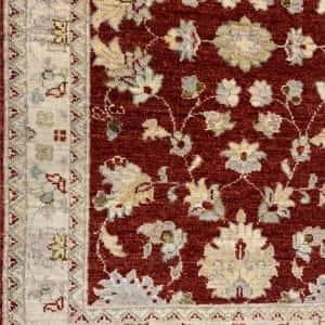 Rug# 26073, Peshawar Chobrang, 19th c Ziegler design , HSW pile, Pakistan, size 544x80 cm (4)