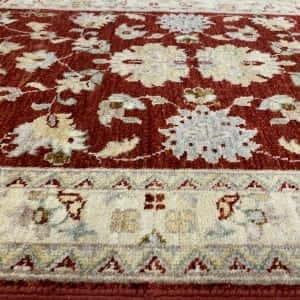 Rug# 26073, Peshawar Chobrang, 19th c Ziegler design , HSW pile, Pakistan, size 544x80 cm (5)